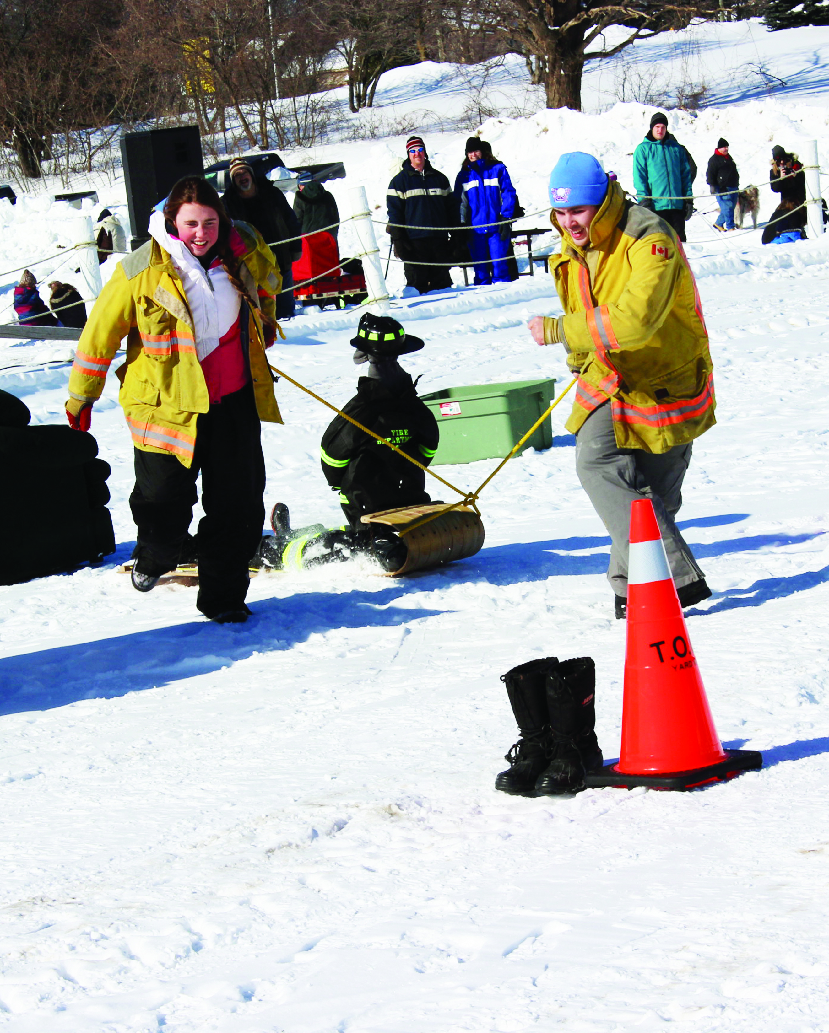 Lots Of Snow And Sunshine Contribute To SnowFest Family Day Fun Monday