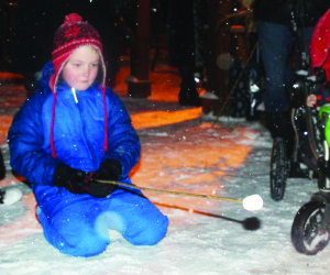 Community out for Jinglewood It was time for Jinglewood in Inglewood Sunday night, and much of the community was out for the holiday festivities. Benjamin Boucher, 7, was right in the spirit of the occasion as he toasted his marshmallow.