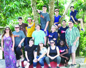 Members of Mission Team 2017 from St. Michael Catholic Secondary School and Mississauga's Father Michael Goetz Secondary School beat the winter chill by spending a week in the Dominican Republic doing humanitarian work.