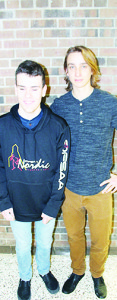 Mayfield Secondary School Rory McDonald and Noah Chalifoux This 15-year-old is a nordic skier who came in first in the Para Nordic Classic. He is also active in judo, with an orange belt to prove it. The Grade 10 student lives in Brampton. He was accompanied on the skiing course by his guide Noah Chalifoux, 17. When the skiing season is done, he is looking forward to rowing for school. The Grade 12 student lives in Brampton.